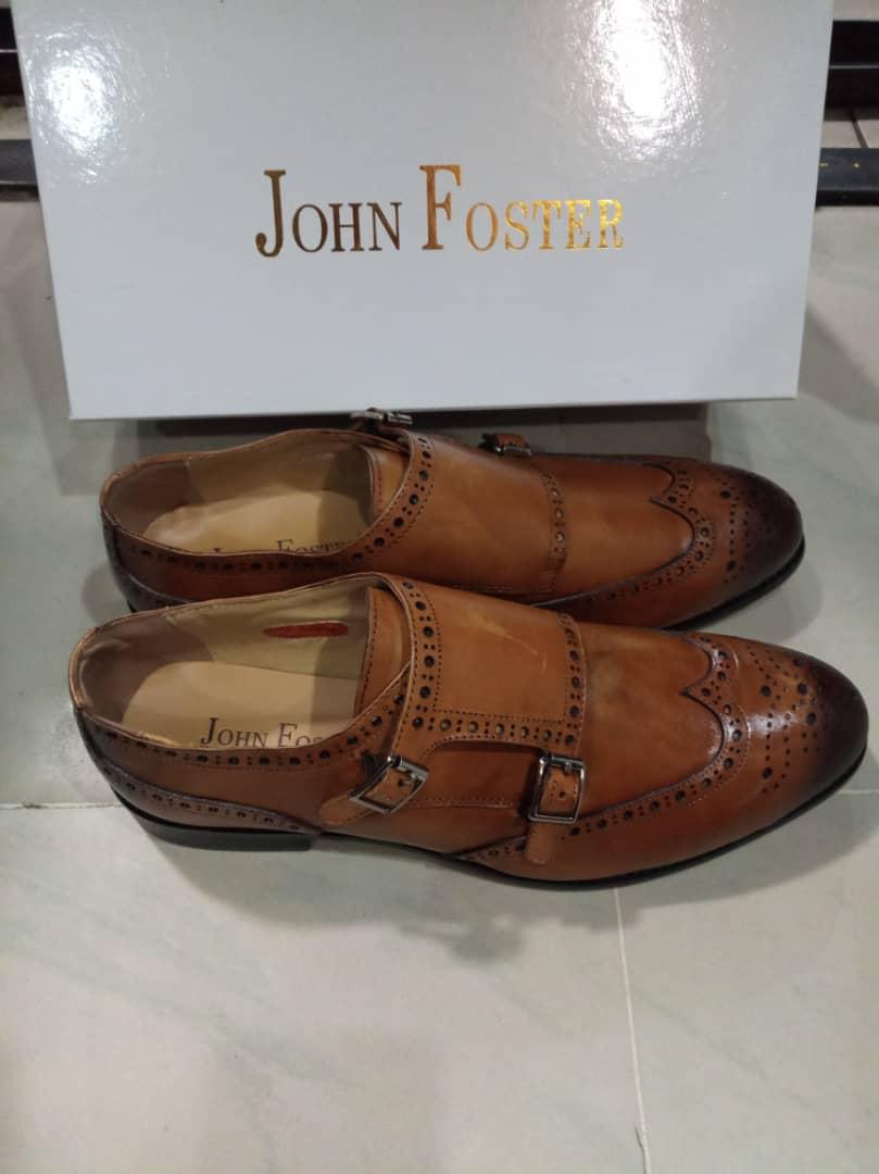 John Foster men luxury shoe Brown - RKC